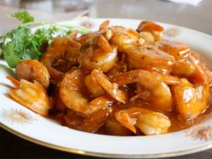 小图  Shrimp  Garlic Sauce